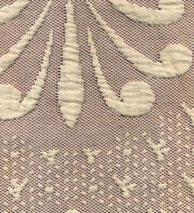 Twin USA-Made Abigail Adams 100% Cotton Matelasse Textured Bedspread