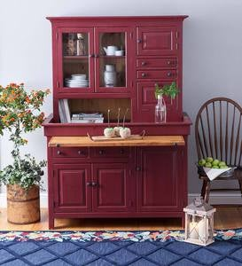 Large Painted Finish Conestoga Cupboard