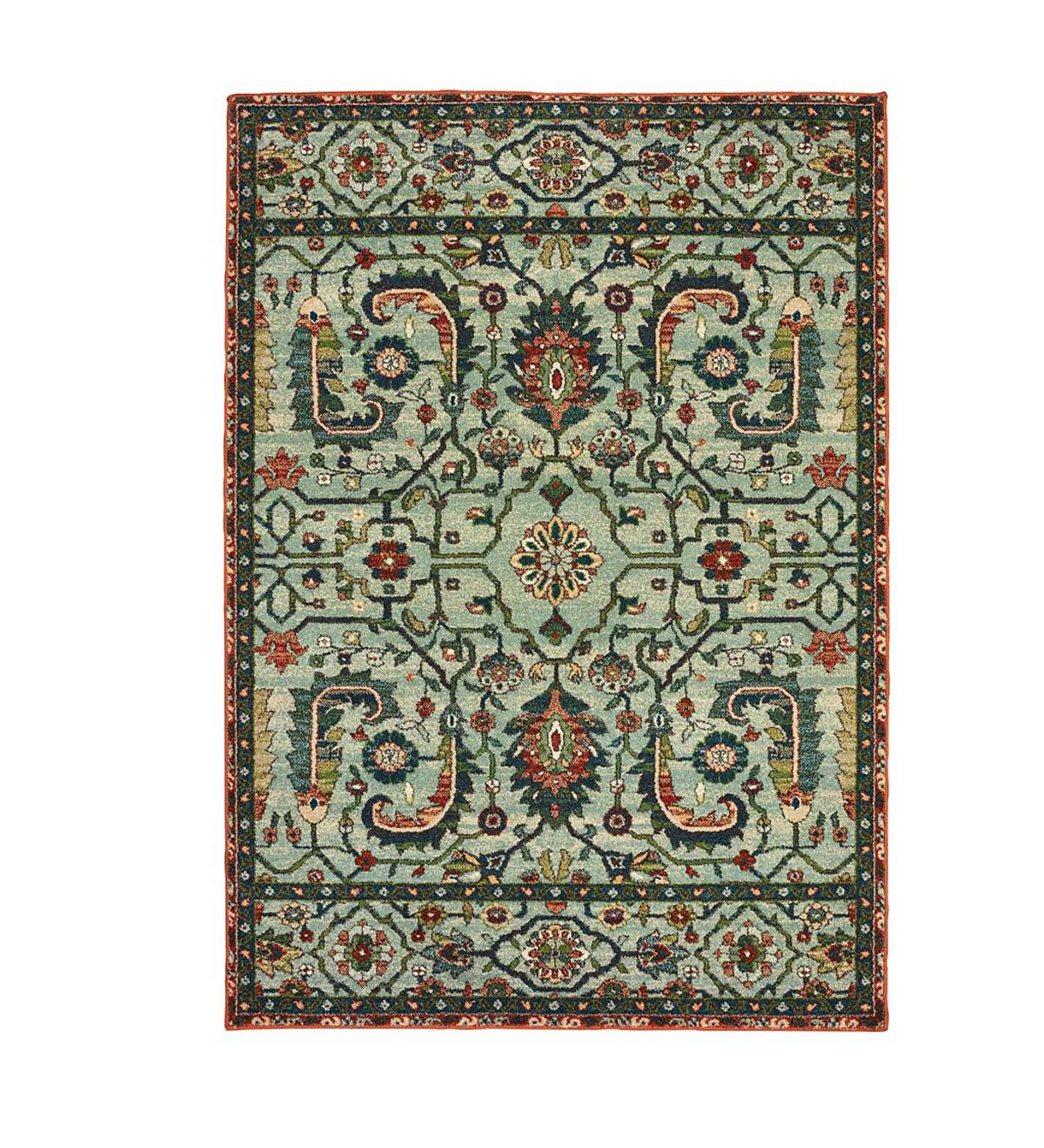 Daughton Floral Area Rug, 8' x 11'