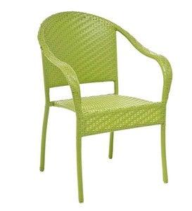 Stackable Outdoor Wicker Chair