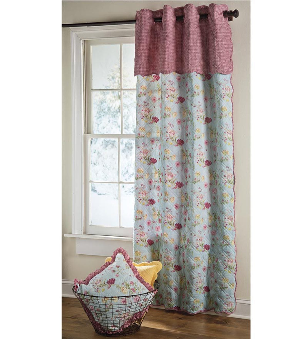 "Isabelle Window Quilt - 44""W x 72""L"