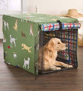 Bedtime Tails Dog Crate Cover