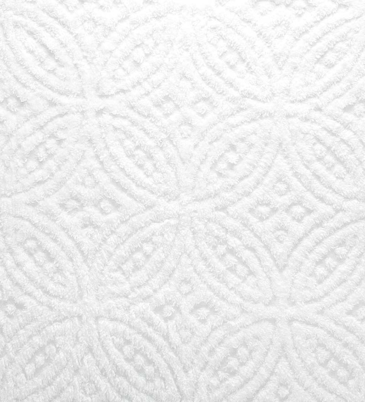 Full Wedding Ring Tufted Chenille Bedspread