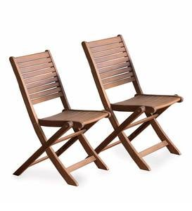 Eucalyptus Wood Outdoor Bistro Furniture