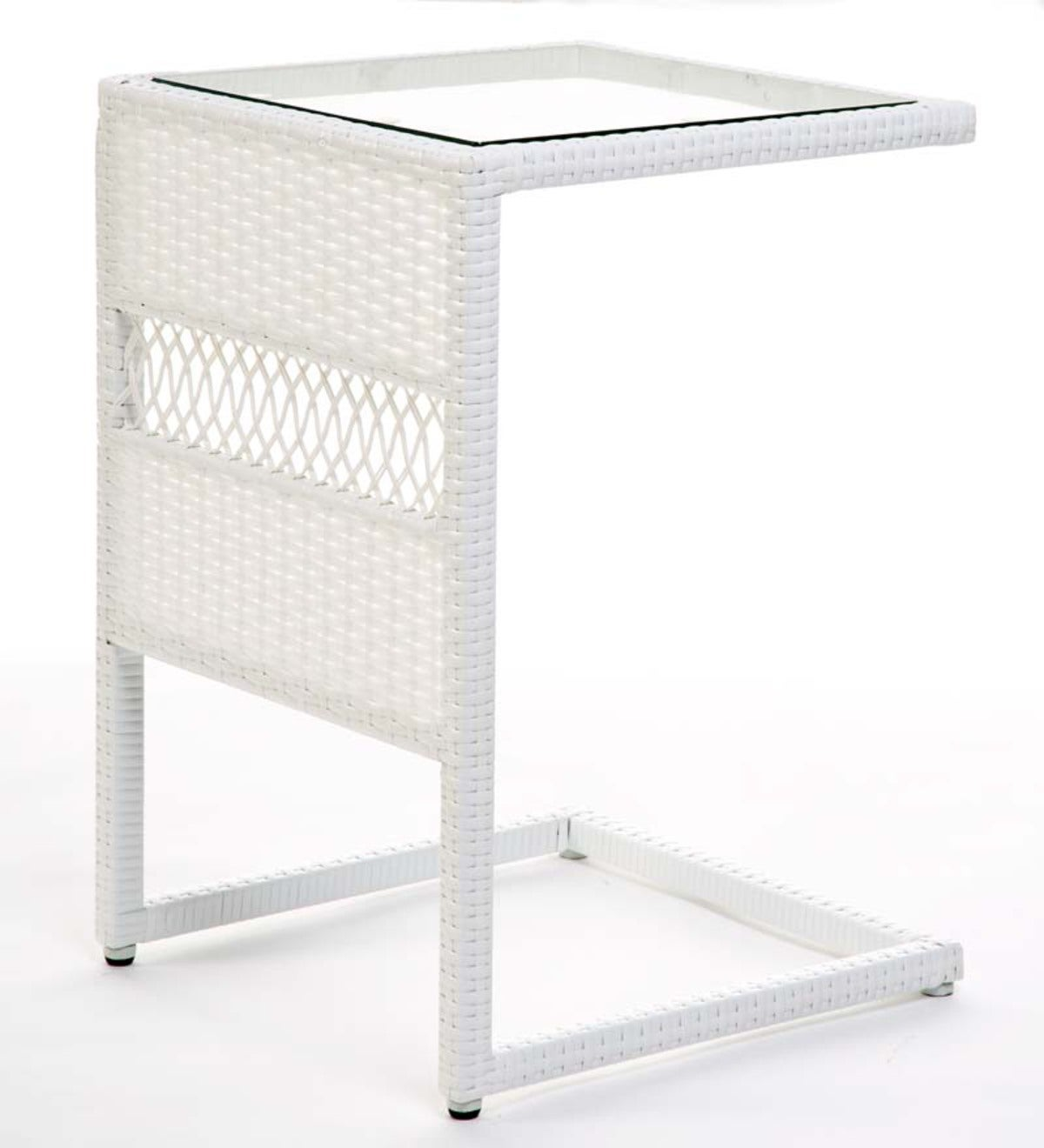 Easy Care All-Weather Wicker Pull-Up Table
