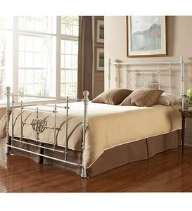 Lafayette Vintage Metal King Bed