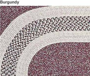 8' Round Country Rug - BEIGE