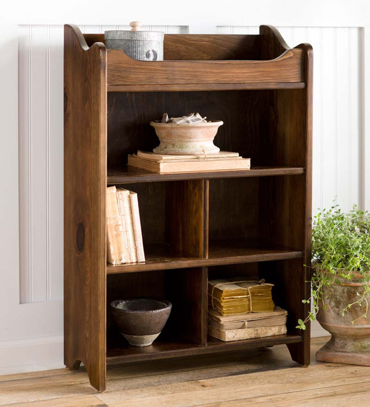 USA-Made Solid Pine Dry Sink Storage Cabinet