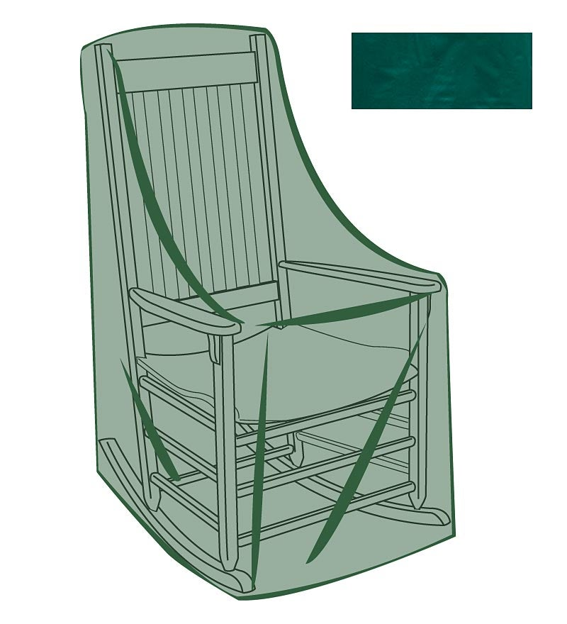 Classic Rocking Chair Outdoor Furniture Cover
