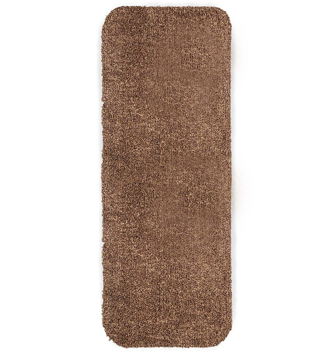 "Microfiber Mud Rug With Non-Skid Backing, 29"" x 58"" Runner"