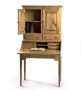 Schoolmaster's Desk with Hutch