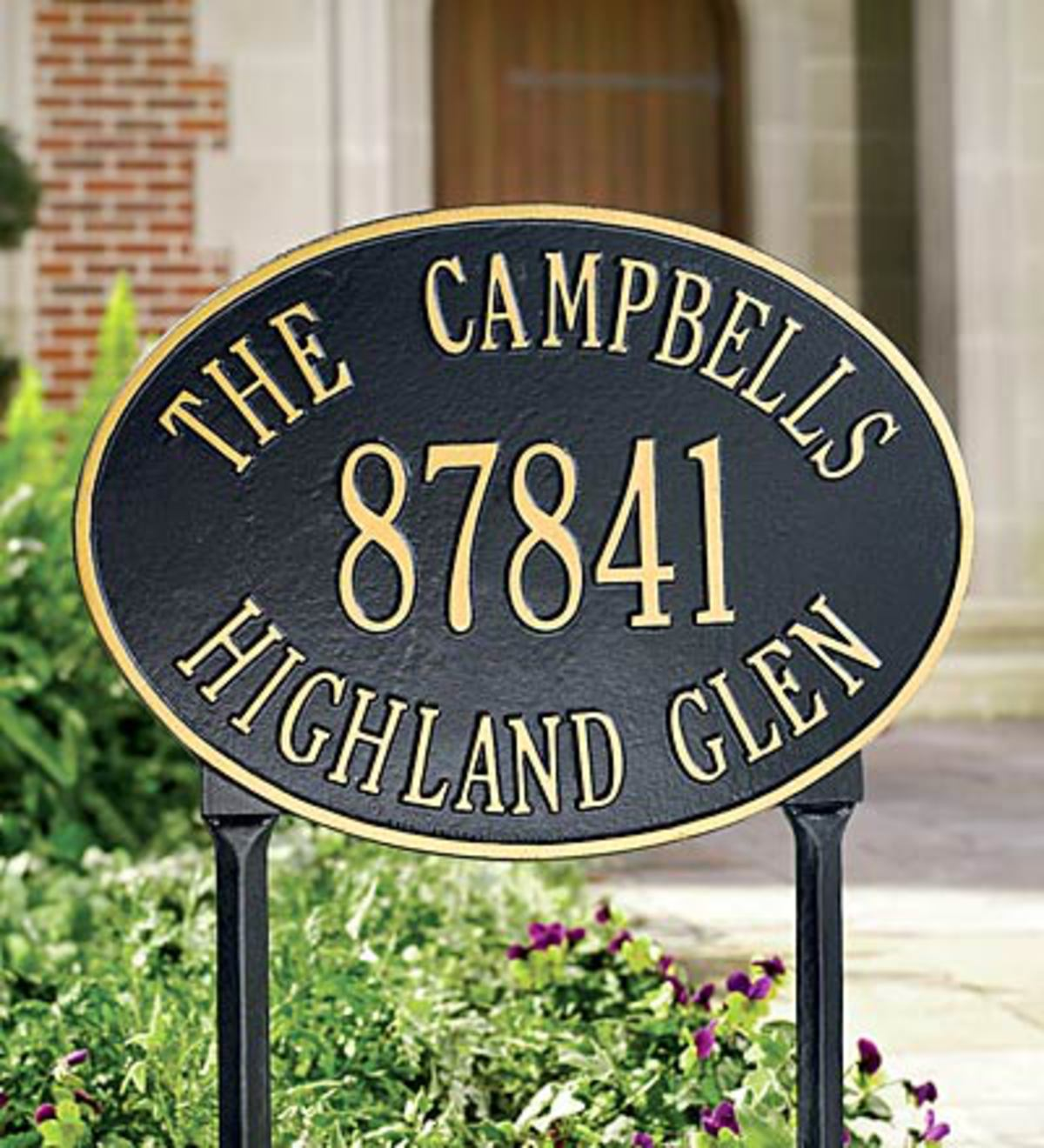 Address Plaques Address Signs Amp Wall Plaques Outdoor