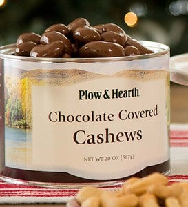 Jumbo Cashews - Salted, Honey Toasted Or Chocolate Covered - Chocolate Covered