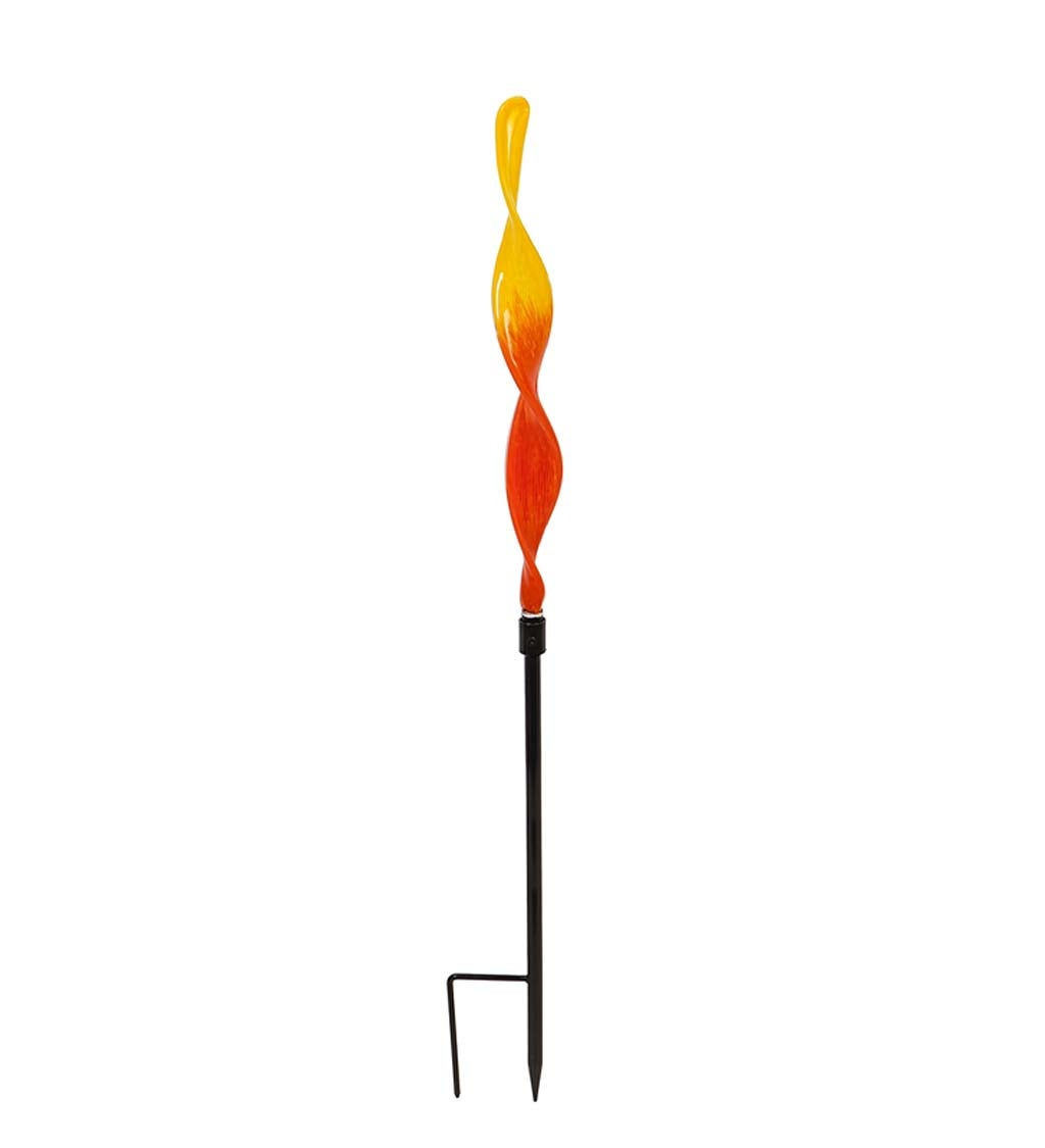 Art Glass Reed Garden Stake