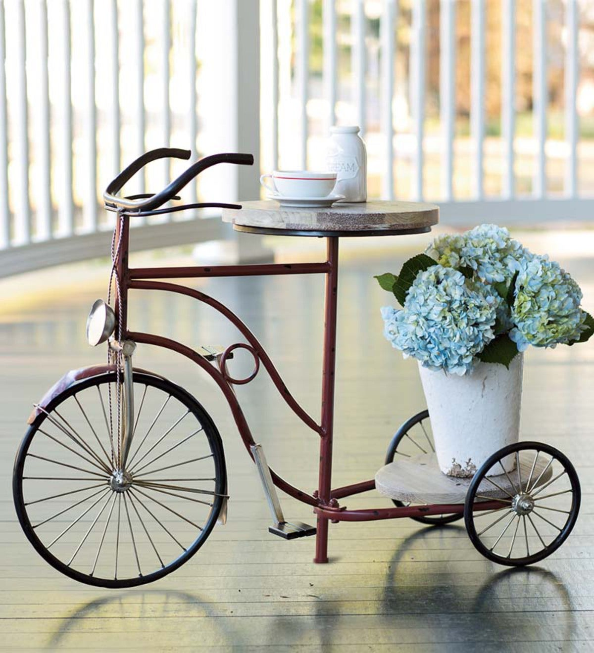 Vintage Tricycle Plant Stand Plowhearth