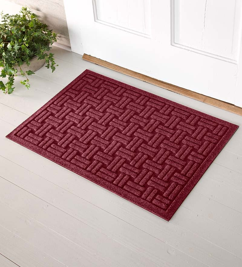 2 W X 3 L Medium Basketweave Waterhog Doormat