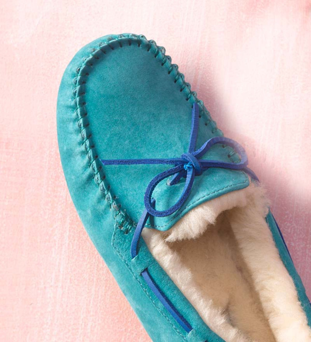 UGG Australia Womens Dakota Moccasin Slippers - Marlin - Size 10