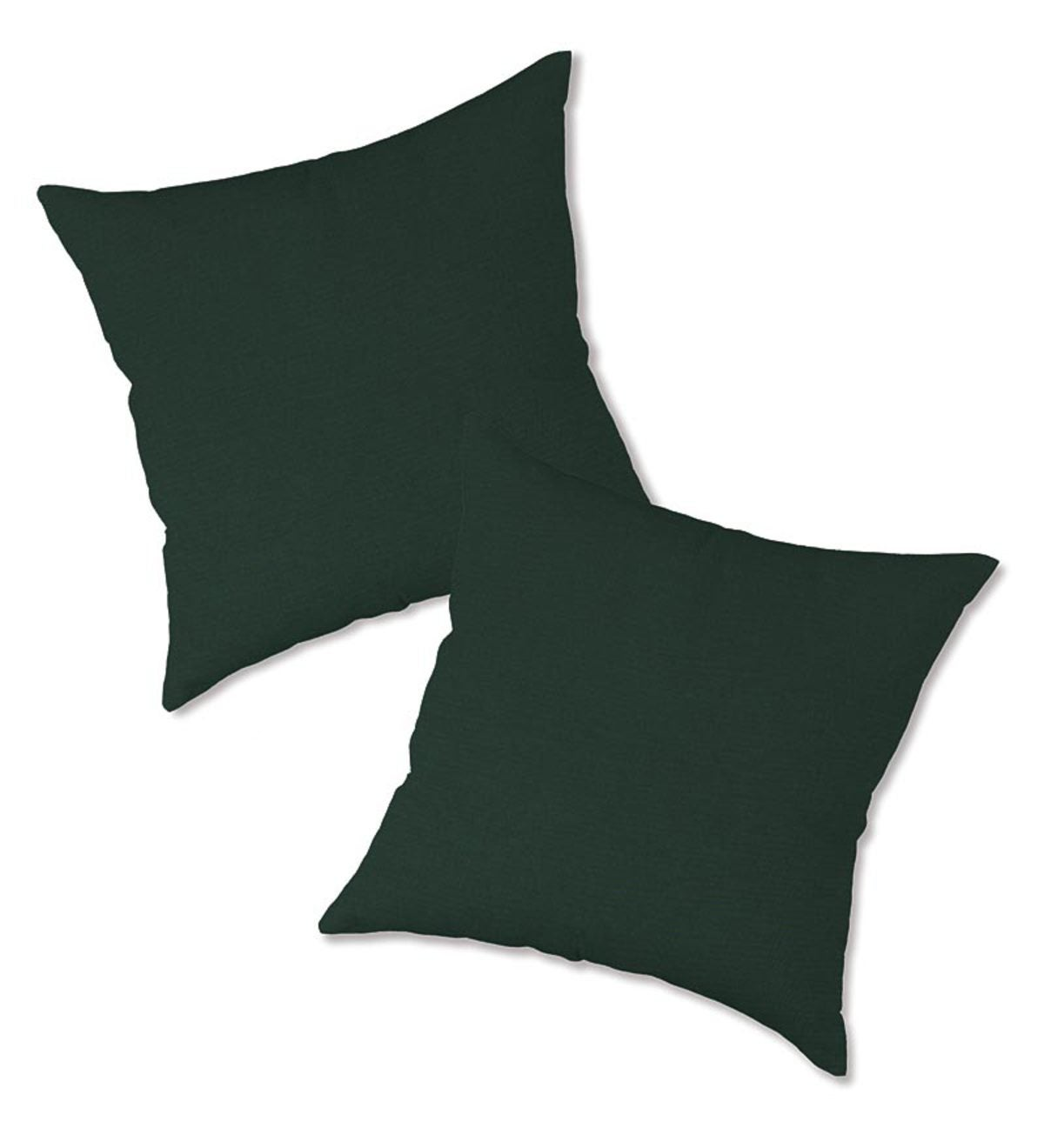 Set of 2 Replacement Pillows for Rope Hammock Swing - Forest Green