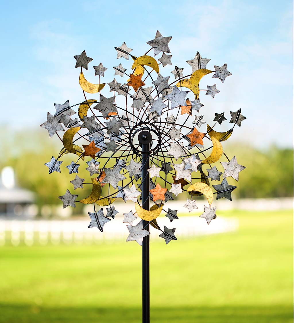 Celestial Confetti Wind Spinner