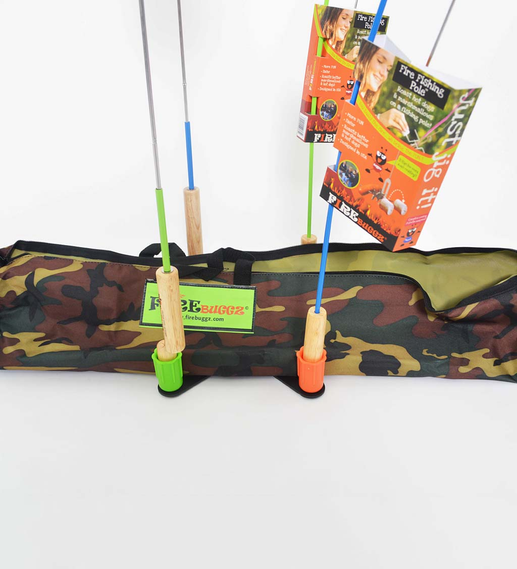 6-Piece Campfire Cooking Family Fun Pak with Camo Bag