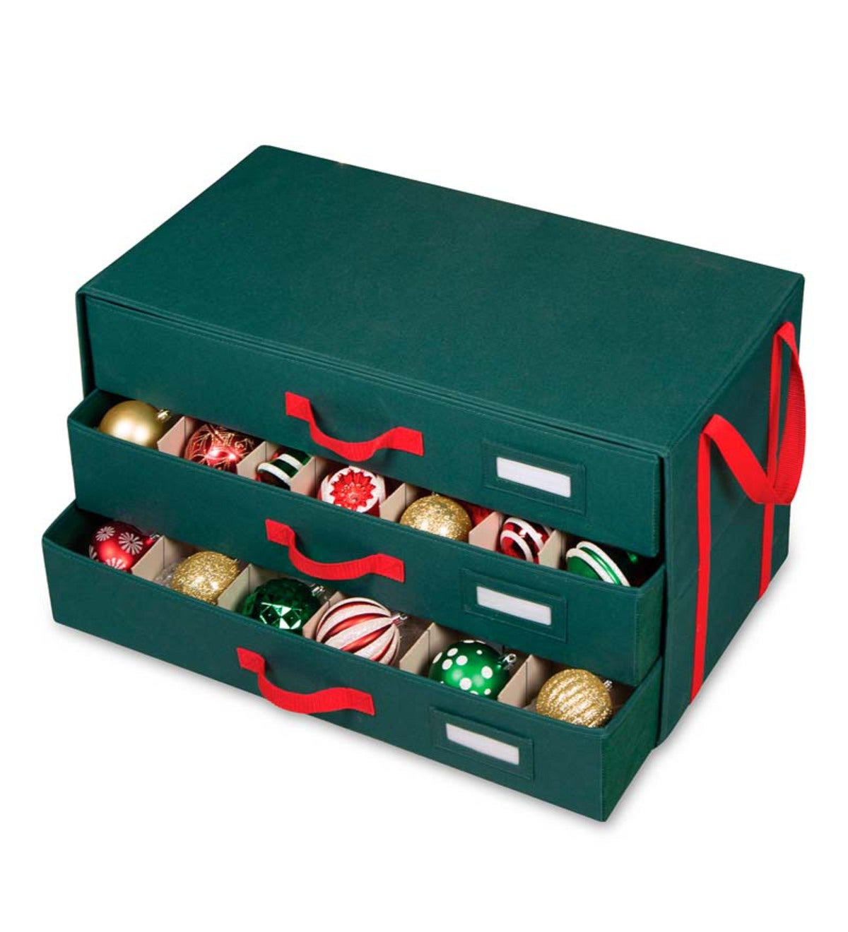 Christmas Ornament Storage Chest With Drawers