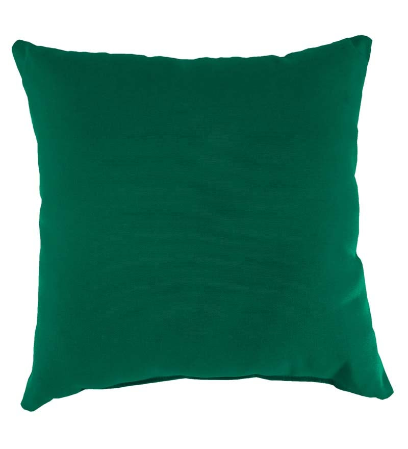 "Sunbrella Classic Throw Pillow, 15"" sq. x 7"" swatch image"