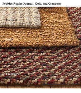 8' x 11' Rectangular Pebbles Rug