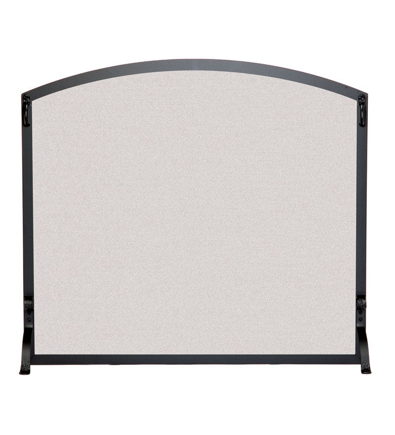 Large Flat Fireplace Screen With Arched Top swatch image