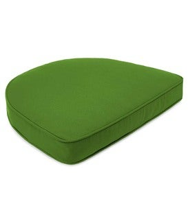 Sunbrella Deluxe Chair Cushion with Rounded Back