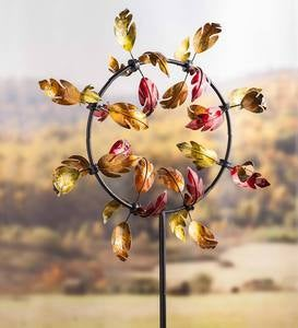 Fall Leaves Jubilee Wind Spinner