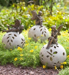 Fairy Solar Globe Garden Light - Thinking
