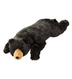 Black Bear Plush Cuddle Animal Body Pillow