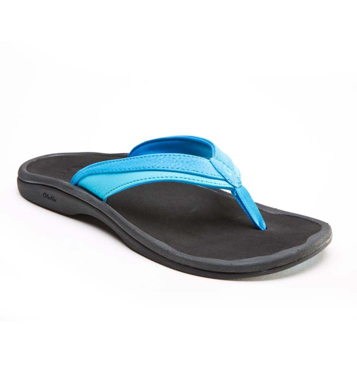 Women's OluKai Ohana Flip-Flop Sandals - Tropical Blue/Ice - Size 5