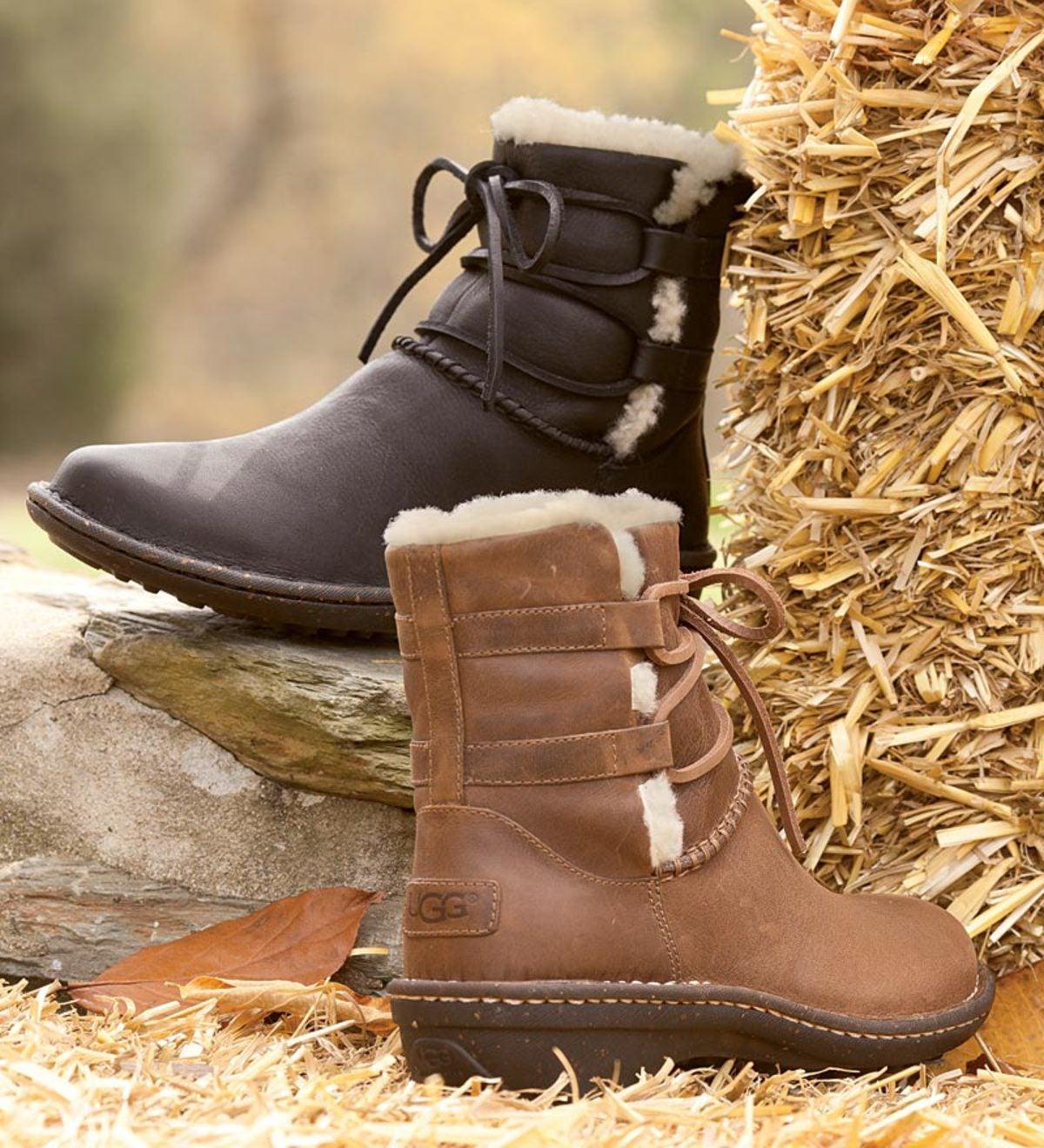 Ugg 174 Australia Women S Caspia Ankle Boots Plowhearth