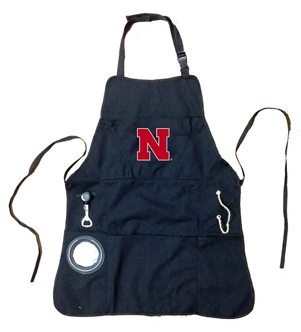 Deluxe Cotton Canvas College Team Pride Grilling/Cooking Apron swatch image
