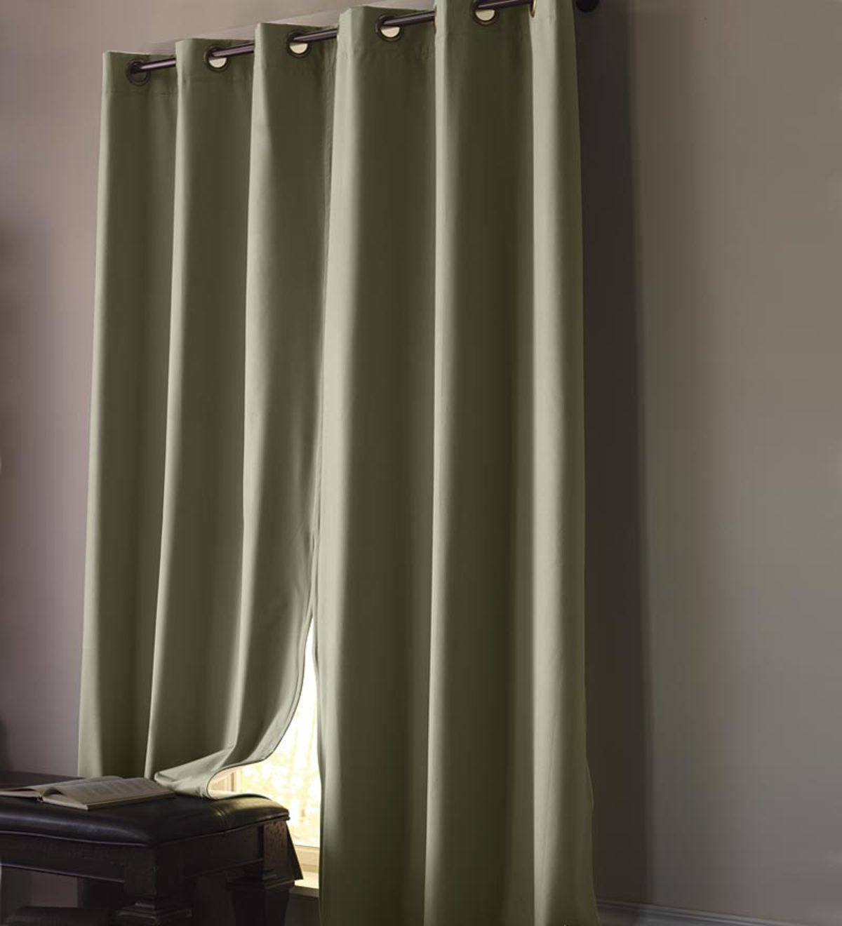 84 L Pair Thermalock Blackout Curtains Plowhearth