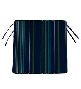 "Deluxe Sunbrella Square Cushion with ties 21½"" x 18½"" x 3"""