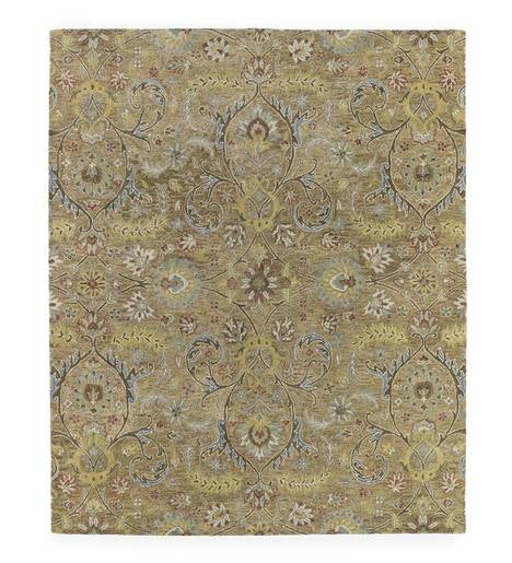 Meadow Fern Wool Rug, 10' x 14'