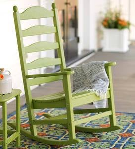 POLYWOOD® Outdoor Rocker and Side Table