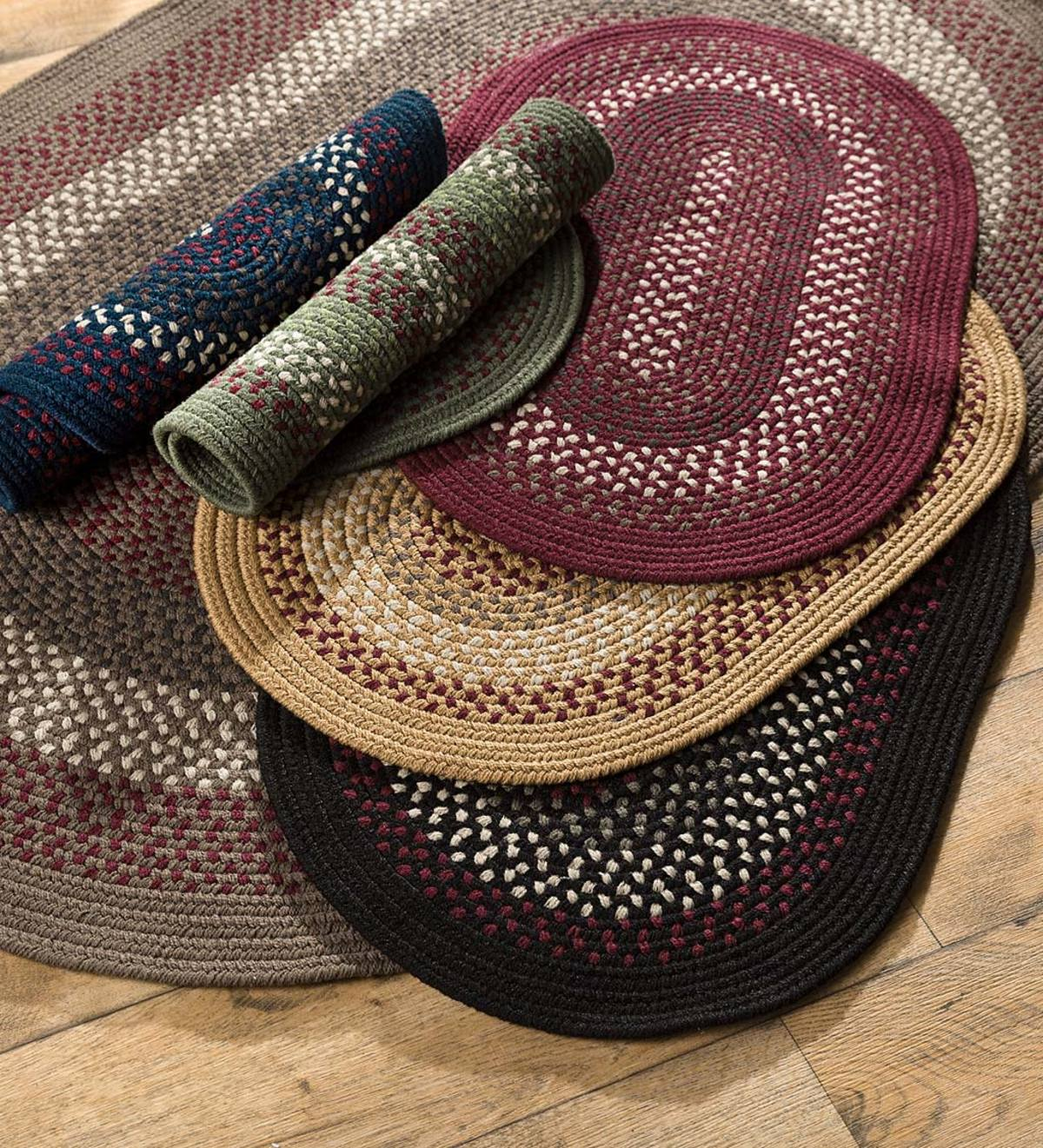 Country Classic Braided Polypropylene Rugs