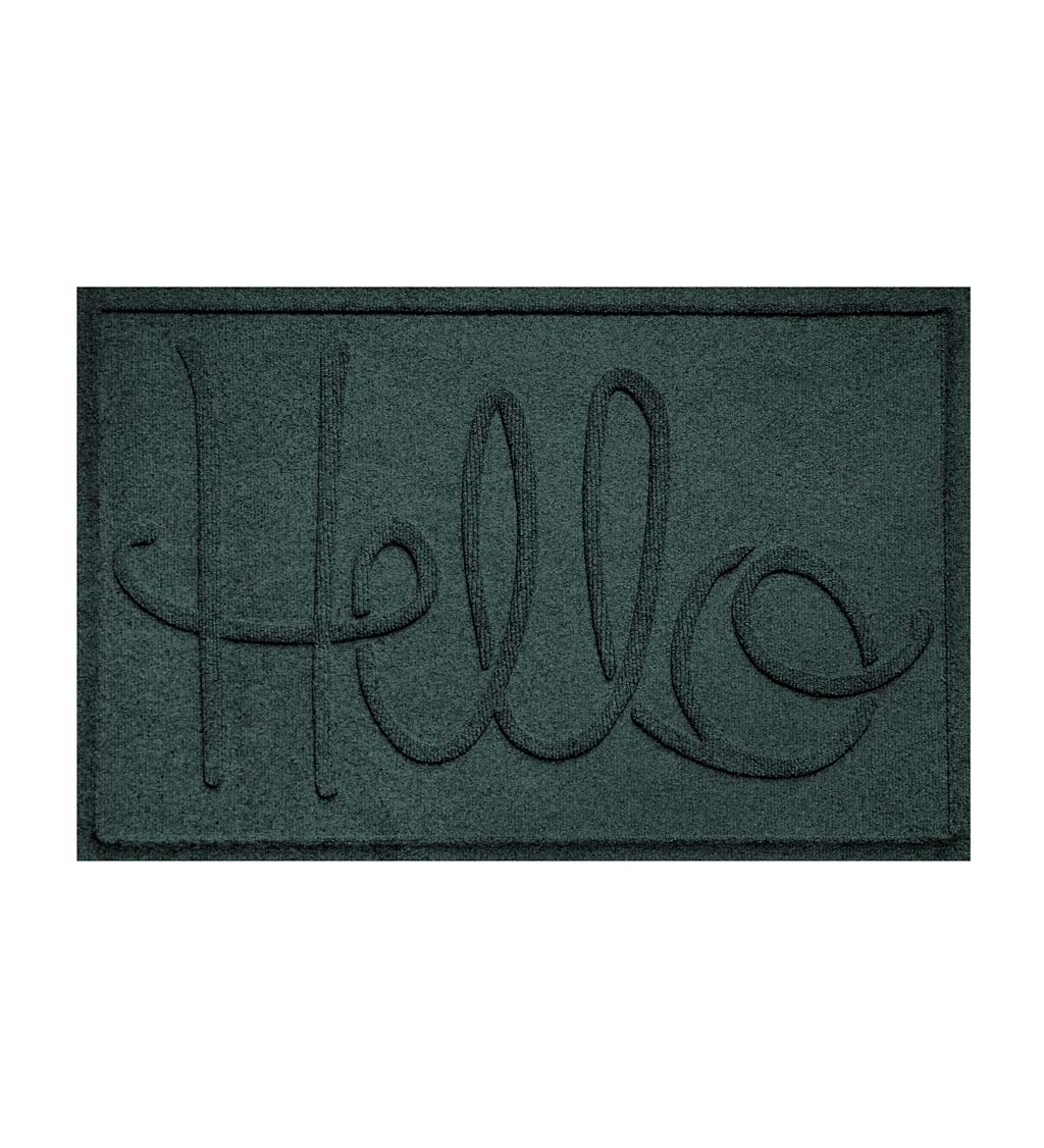 Waterhog Indoor/Outdoor Hello Doormat, 2' x 3' swatch image