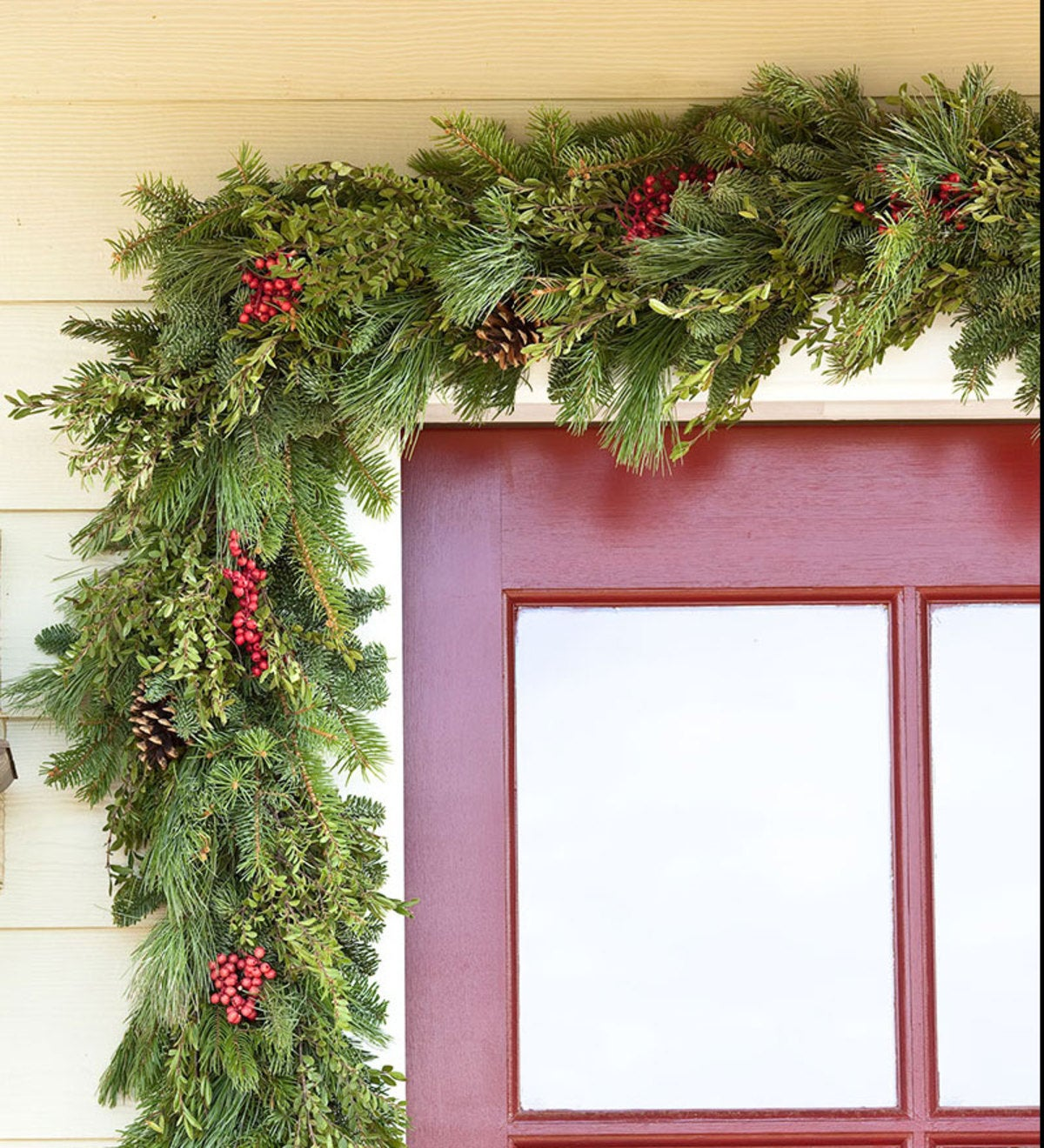 Holiday Woodland Evergreens 12'L Garland