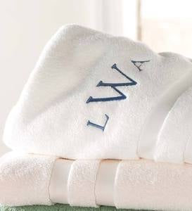 Monogrammed Signature Bath Towel