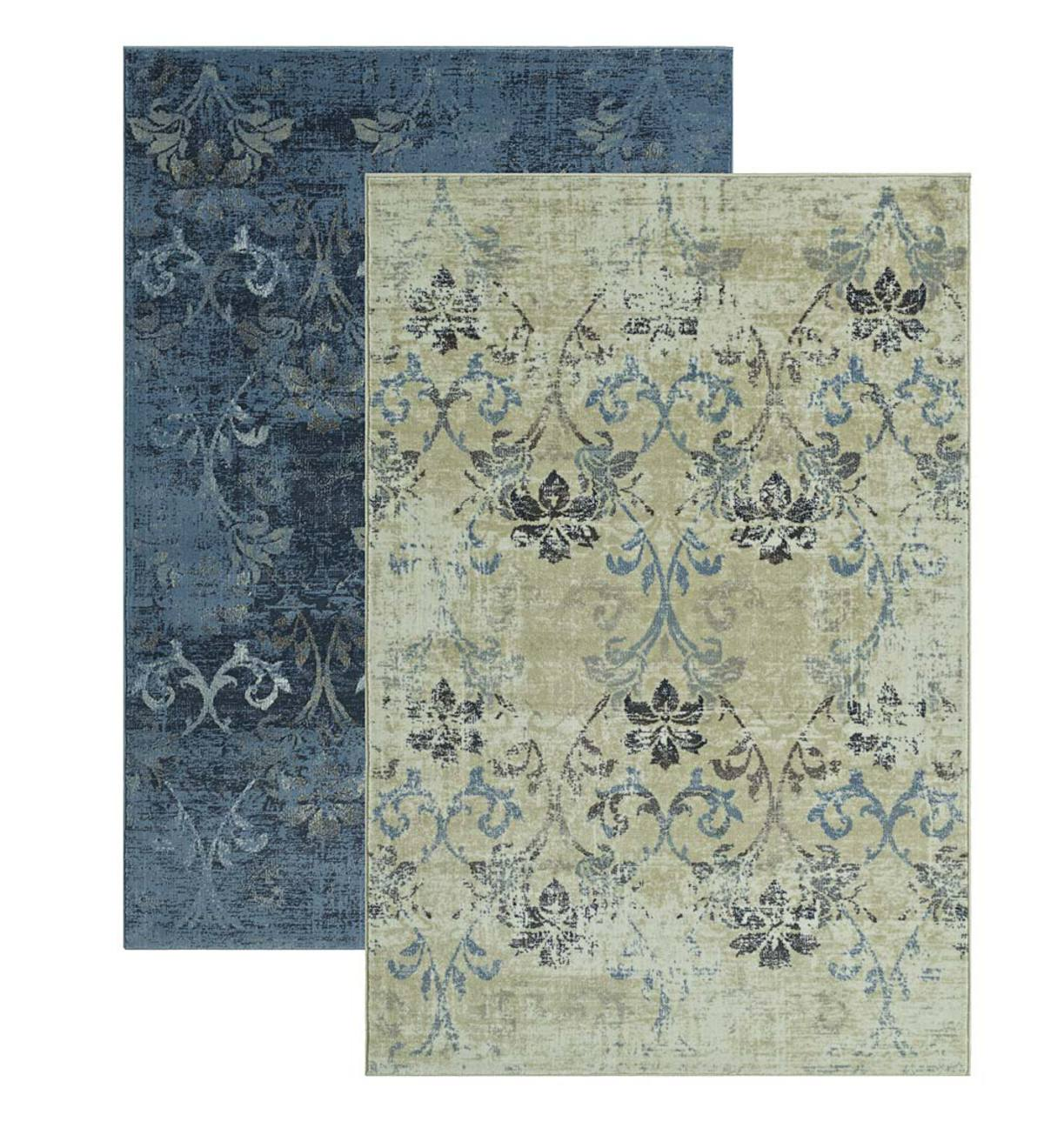Charleston Scroll Performance Rug 8 X 10 Eligible For