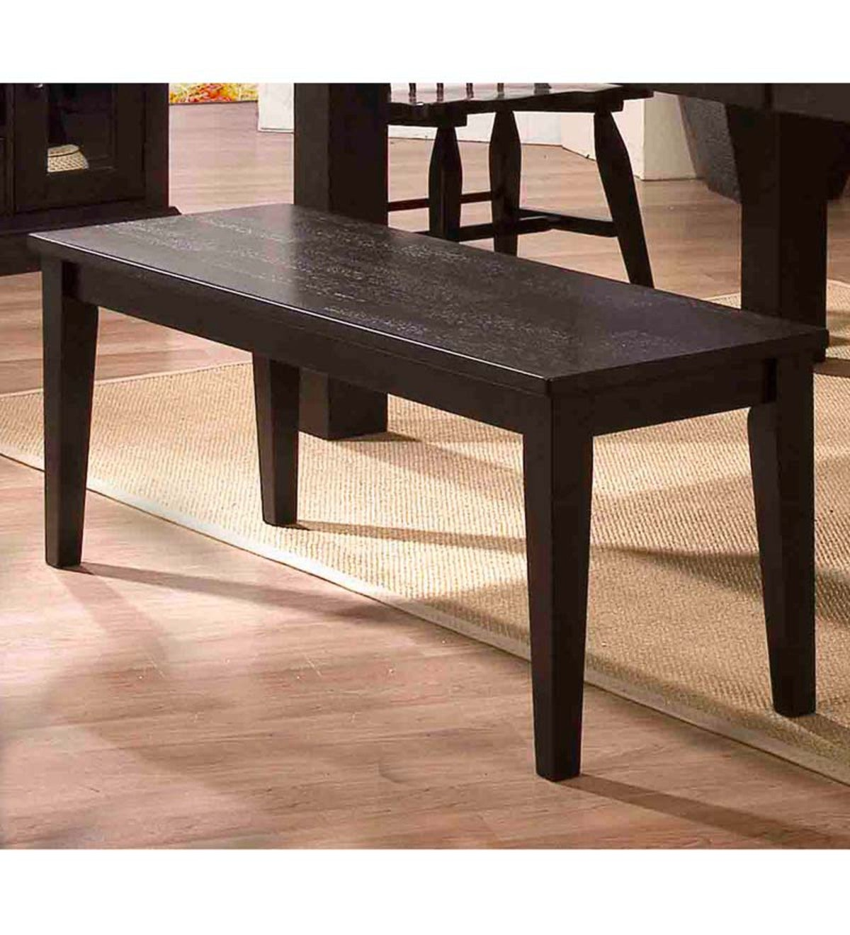 Espresso Wood Dining Bench