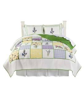 Cecelia Floral Quilt Set and Throw Pillow
