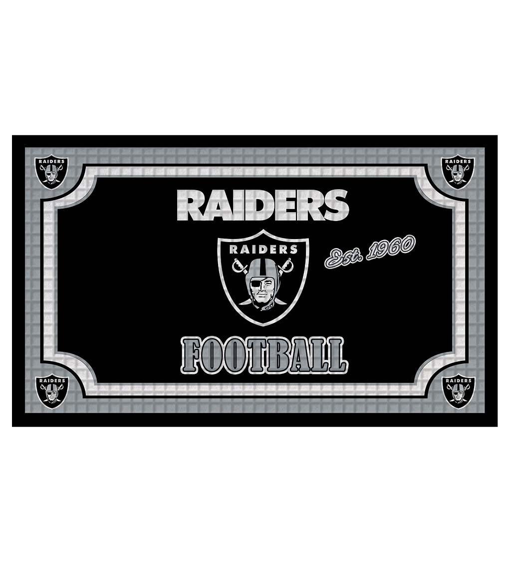 Indoor/Outdoor NFL Team Pride Embossed Doormat