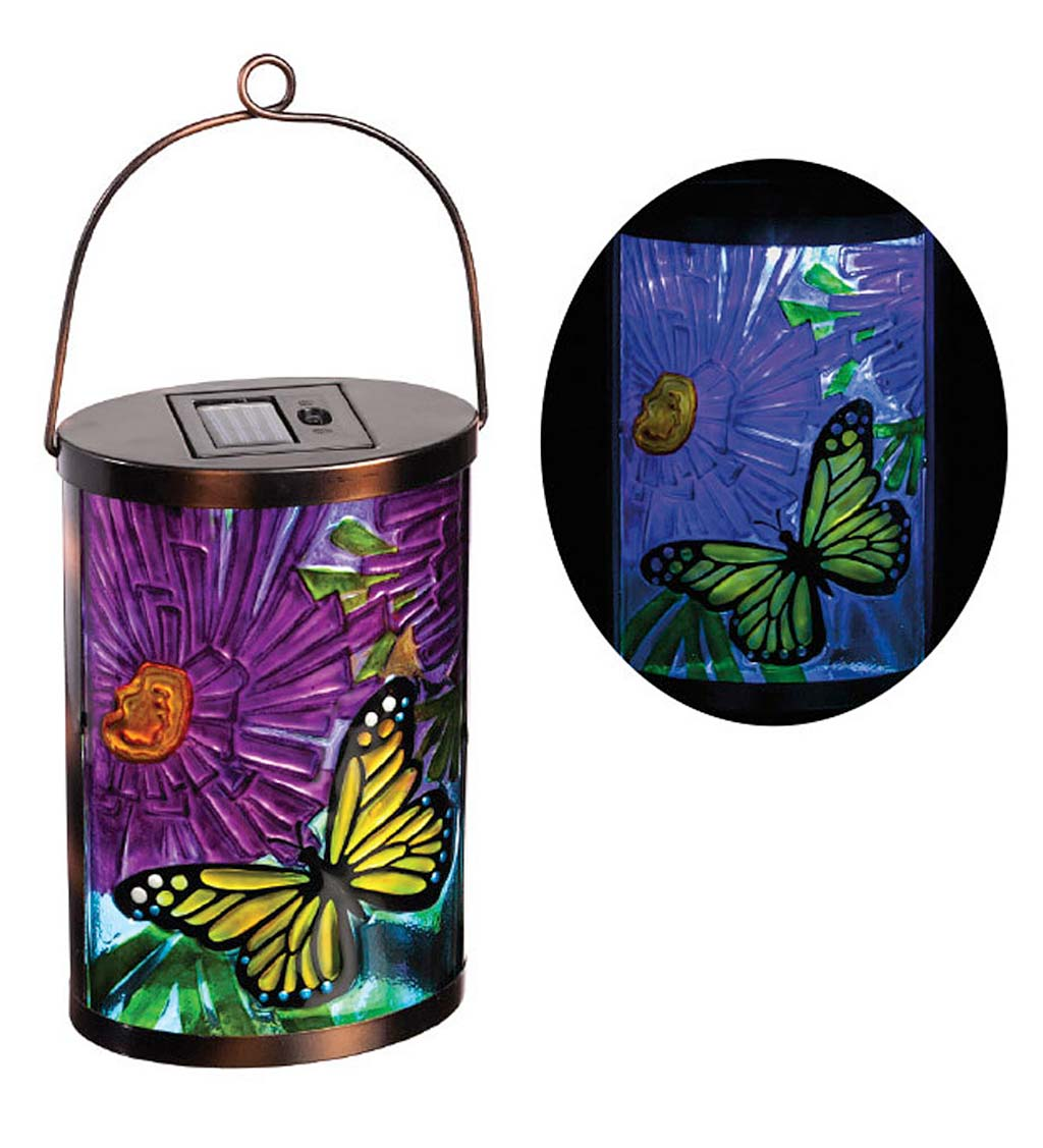 Garden Friends Butterfly Solar Lantern