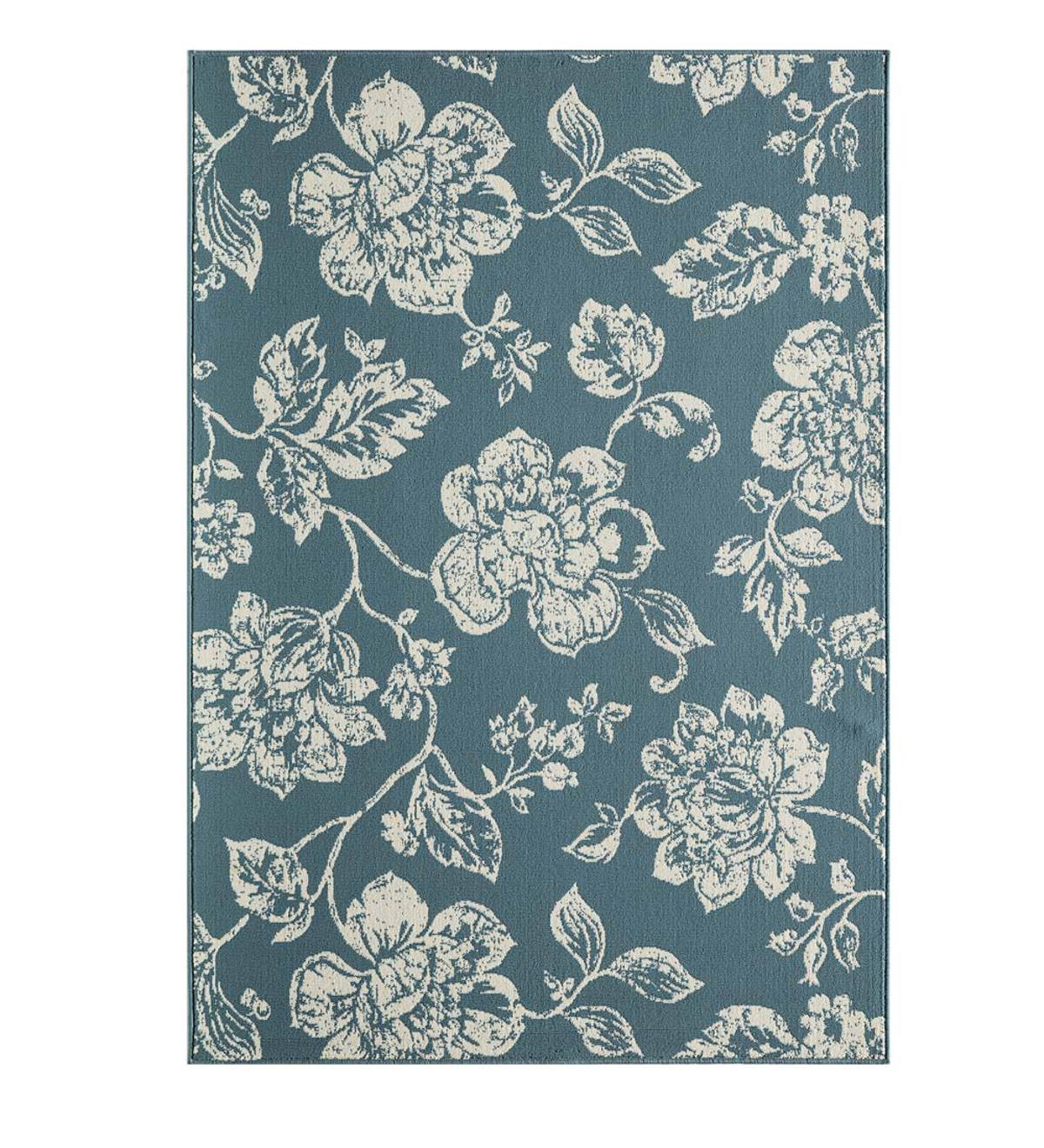 Garden Toile Indoor Outdoor Rug 8 6 X