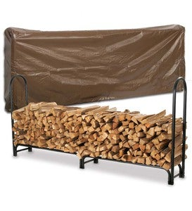 Extra-Large Log Rack And Cover Set